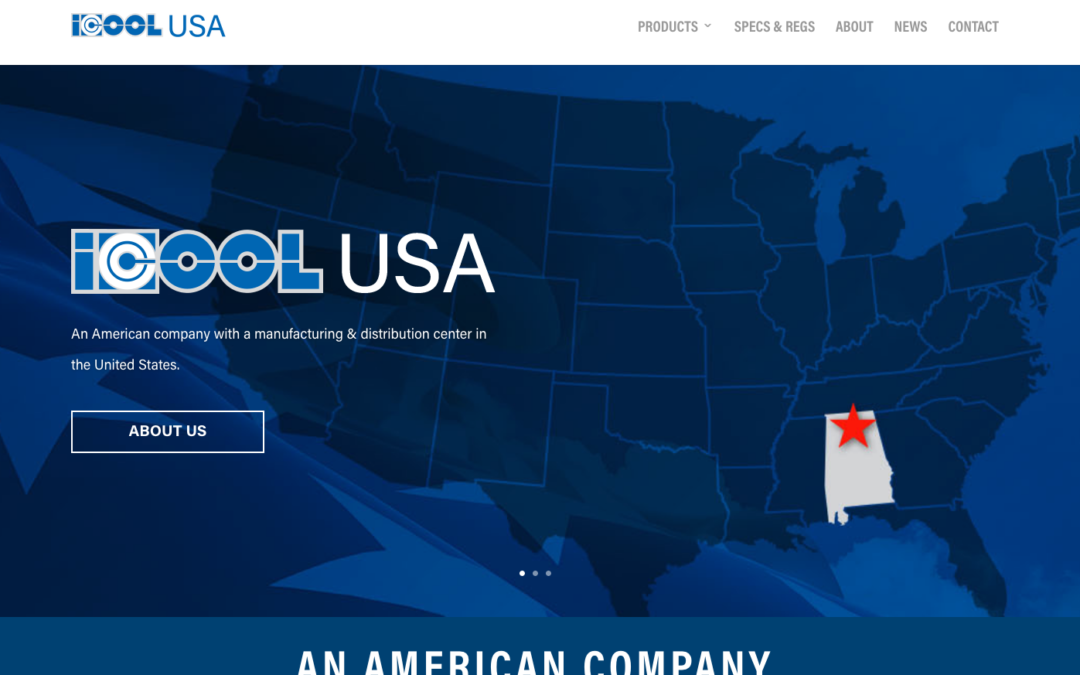 ICOOL USA launches new responsive web site